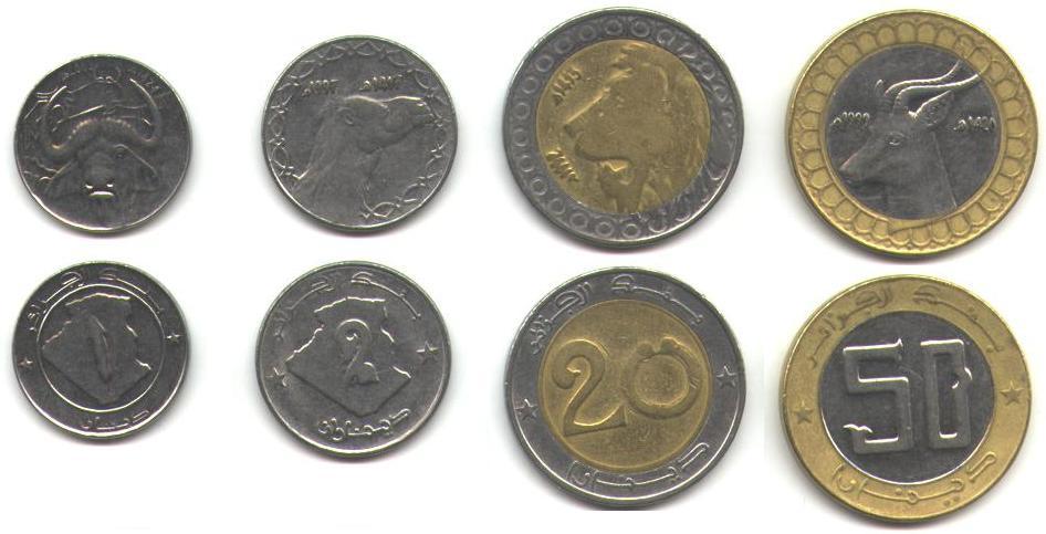 Pices De Monnaie D 39 Algrie Coins Of Algeria