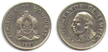 HONDURAS COINS