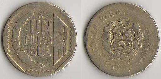 Monnaie du p rou - Sol en piece de monnaie ...
