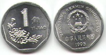 Les monnaies en Asie de l'(extrême) est Chine_1_Yuan