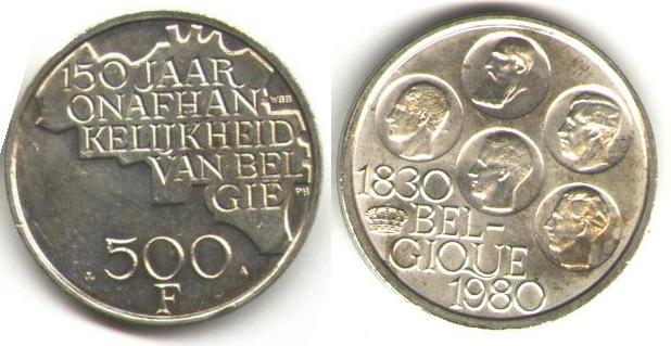 Pi Ces De Monnaie De Belgique