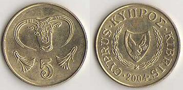piece de monnaie kibris