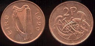 piece de monnaie eire