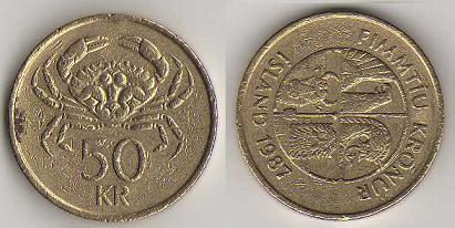 piece de monnaie islandaise